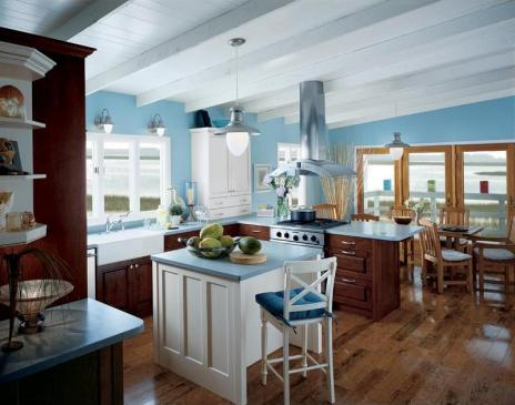 beautiful-blue-kitchen-ideas-kitchen-colors-with-light-blue-walls